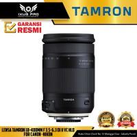 Lensa Tamron 18-400mm F 3.5-6.3 DI II VC HLD For Canon -Nikon