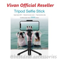Vivan ST-B01 Bluetooth Tripod Selfie Stick Tongsis