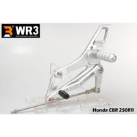 Footstep Racing WR3 V-Series Honda CBR 250 RR - Full Silver