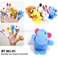 BABY LEON Boneka Jari seri binatang MJ-01 mainan anak edukatif hewan