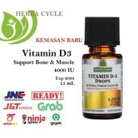 Natures Answer Vitamin D-3 Drops 4000 IU (15 ml) ORI USA