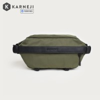 Moment Fanny Sling Olive Canvas // Waist Bag Pack