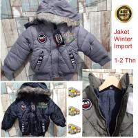 Jaket Bayi Cowok Jaket Anak Impor Coat Mantel Baju Hangat 02