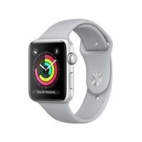Apple Watch Series 3 (38Mm) Silver Alumunium + White Sport Mtey2Id/A