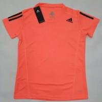 Dijual Kaos Running Pria Adidas Original Baju Olahraga Polyester Harga