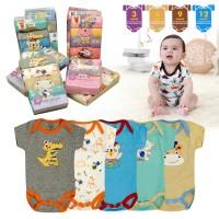 5in1 baju bayi jumper Jumsuit bayi 100% COTTON BC-01-9 SNI kaos bayi