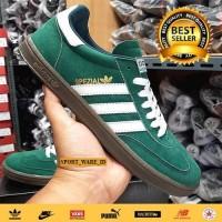 Sepatu Pria Adidas Spezial Green White-Hijau Putih-Madein Vietnam