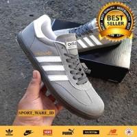Sepatu Pria Adidas Spezial Handball-Deep Grey-Import-Abu Putih