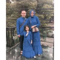 Baju Muslim Wanita Ibu Anak Ayah Couple Syari Gamis TERBARU Srikandi