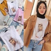 tshirt wanita kaos distro kaos wanita import baju wanita terbaru NS15