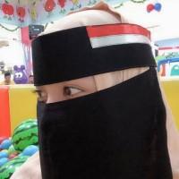 Niqob Bendera Indonesia/Bandana Bendera