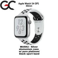 Apple Watch S4 Nike Silver White Mu6K2 Gps 44Mm Iwatch Series 4 Second