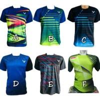 Kaos Batminton Bulutangkis Baju Badminton Bulutangkis Victor KAOS