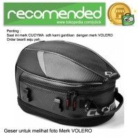 CUCYMA Tas Motor Touring Back Seat Tail Storage Bag - CB-1801 / Hitam