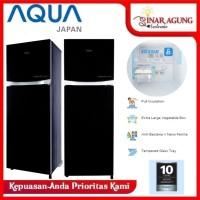 AQUA KULKAS 2 PINTU INVERTER 220 LTR AQR D275 R WBK - WITH ASI ROOM
