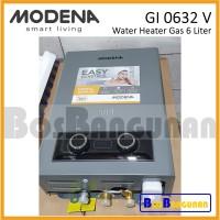 Pemanas Air Gas MODENA 6 LITER / Water Heater MODENA GI 0632 V