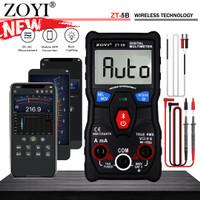 Zoyi ZT-5B Smart Avometer Multitester Multimeter 60MQ 6000uf HZ AC DC