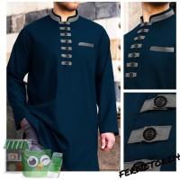 Jubah Gamis Pria BM38 Baju Koko AKhtar Fashion