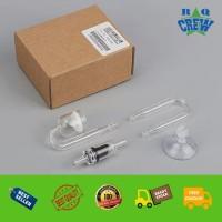 CO2 Mini Glass Diffuser Aquarium Aquascape Co2 Mini Diffuser Kaca