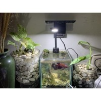 Sobo Lampu Led Jepit Mini Clip Lamp L-28C Aquarium Aquascape 2,8 Watt