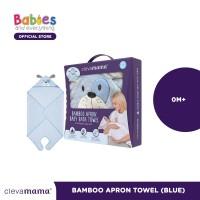 Clevamama 2019 Bamboo Apron Towel Blue
