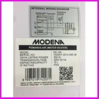 modena water heater es 350watt 15a