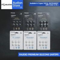Eartips FAudio F Audio PREMIUM SILICONE[HARGA PER PAIR][JDM][NEW][ORI]