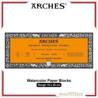 Kertas Cat Air Arches Rough 10x25cm Watercolor Paper Blocks