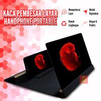 Kaca Pembesar Penguat Layar Handphone Smartphone Portable