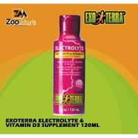 Exoterra Electrolyte & Vitamin D3 Supplement 120 ml / Exo Terra