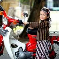 Baju surjan lurik anak / Baju adat anak Jawa