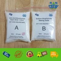 Bahan CO2 DIY Citric Acid Dan Baking Soda CISOD CITRUN Aquascape