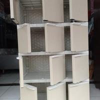 Lemari Anak Plastik Akako Serbaguna 12 Pintu Jumbo Besar Kopisangjyu