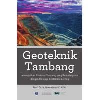 Geoteknik Tambang - Prof. Dr. Ir. Irwandy Arif #B04