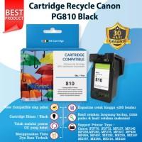 Catridge Tinta Canon PG810 Black New Cartridge PG 810 Katrid PG-810 Hi