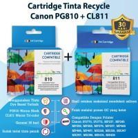 Cartridge Tinta Canon PG 810 Black & CL 811 Color 1 SET Catridge PG810