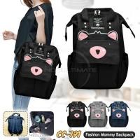 Mommy Bag BABY LEON CC-791 Tas Bayi Ransel Besar Tas Popok Bayi