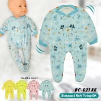 1 Pcs Sleep Suit Bayi Kaki Tutup BC-021KK Jumper Panjang Kaki Tutup