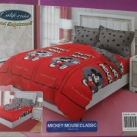 CALIFORNIA MICKEY MOUSE CLASSIC SPREI KING 180 X 200 CM FITTED SHEET