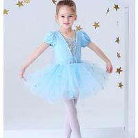 Baju Balet Anak Tutu Elsa Frozen Princess CG102