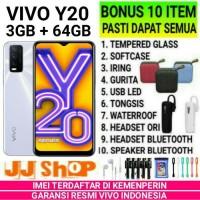 VIVO Y20 3/64 RAM 3GB ROM 64GB GARANSI RESMI