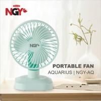 Kipas Angin Portable NAGOYA Aquarius USB Rechargeable Desk Fan | NGY