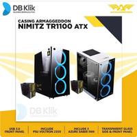 Casing Armaggeddon NIMITZ TR 1100 Include PSU & Fan White