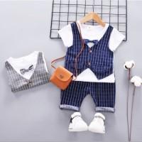 Setelan Baby 1-2thn TUXEDO Baju Anak Murah All size