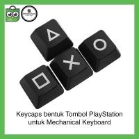 PlayStation Keycaps Mechanical Keyboard Backlit PS Keycap Switch PBT