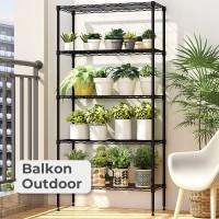 Rak Dapur Rak Kamar Mandi Balkon Rak Susun Besi Penyimpanan Ruang Tamu
