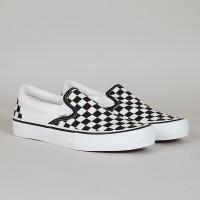 PREMIUM Sepatu Vans Slip On Slipon OG Checkerboard Catur Thrasher Fear