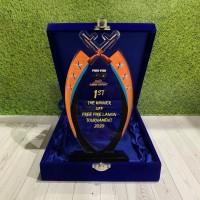 Piala Free Fire Plakat Medali Tropi Hadian Lomba Esport (Include Box)