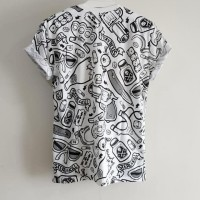 770 Kaos tshirt baju tumblr tee unisex Miki stymo grafiti