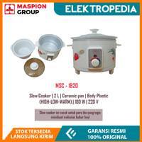 Maspion - Slow Cooker MSC1820 ( 2 Liter )